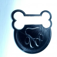 Picture of print of YourGroomers.ca cookie cutter Logo