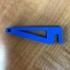 3D Filament Spool Holder for Shelf image