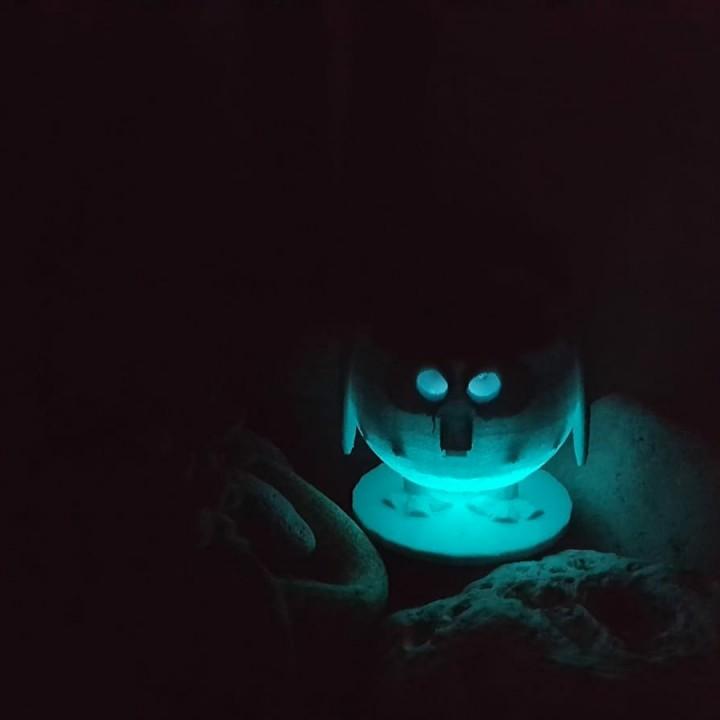 Owl Garden Light Image