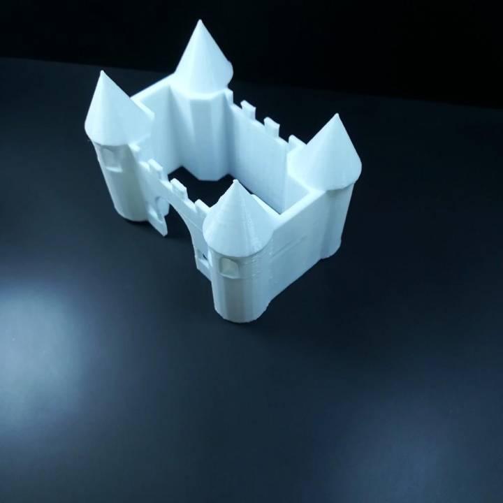 Castle 3D Origami — Steemit   720x720