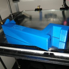 Picture of print of 3DPN easy clip-on high five spool holder