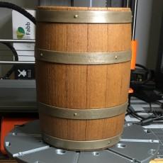 Wooden Barrel Model Kit