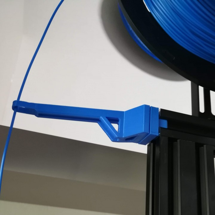 3D Printable Ender 3 Filament Guide By Alberto Marci