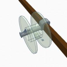 Adjustable spool holder