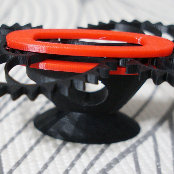 photo regarding Gears Printable named 3D Printable Nautilus Gears Stand as a result of Amy Lewis