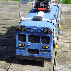 Picture of print of Fortnite Battle Bus