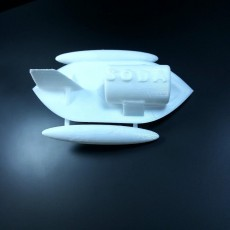 Picture of print of the bottle boat