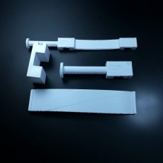 Picture of print of 3d printing nerd design contest spool holder by eros alpegiani