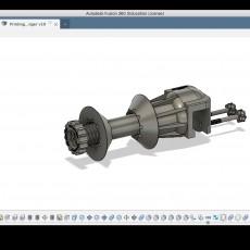 Spool holder for cr-10 & 3DPrintingNerd Shelves
