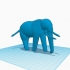 Simple Elephant (Totemic) image