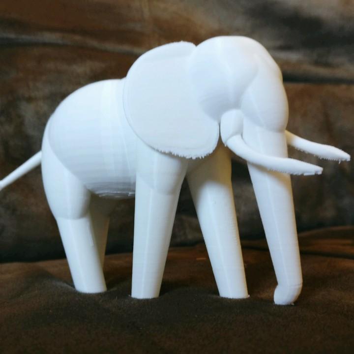 Simple Elephant (Totemic)