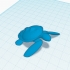 Simple Sea Turtle (Totemic) image