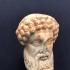 Fragmentary herm head of Hermes image