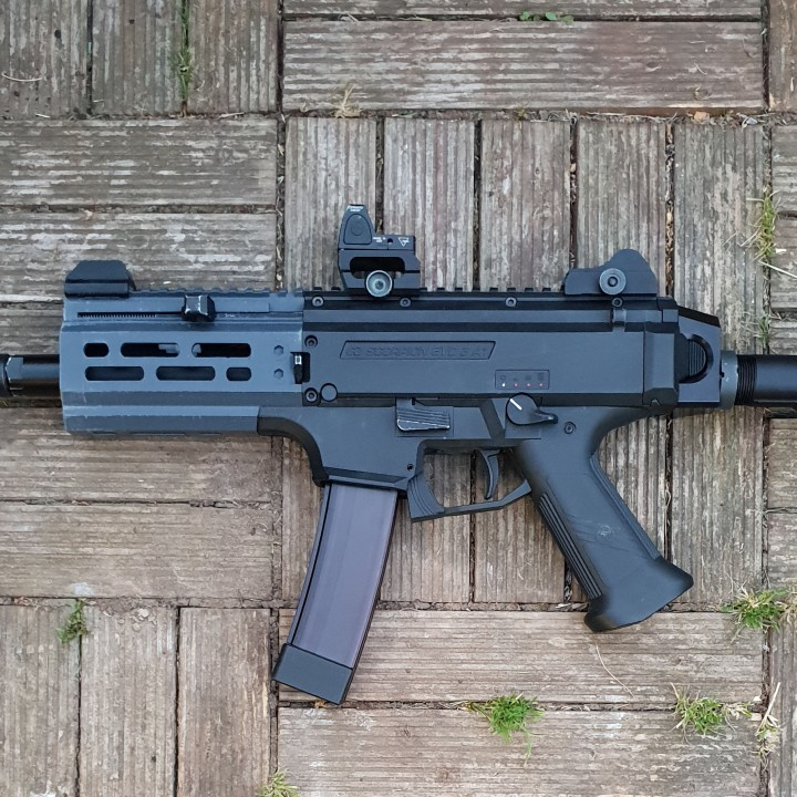 EVO Scorpion short rail