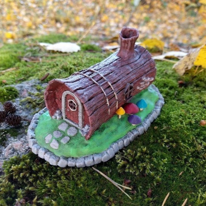House in a log