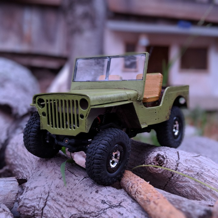 Jeep Willys 1:24th scale