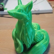 Picture of print of Blink Fox