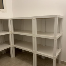 Picture of print of LACK Shelving System