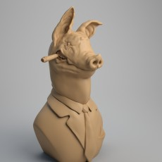 Pig Bust, The chief