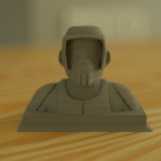 Scout Trooper Bust