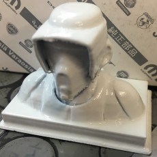 Picture of print of Scout Trooper Bust