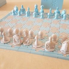 Frozen chess