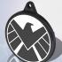 SHIELD Logo Keychain image