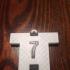 CR7 Juventus - Ronaldo Keychain image