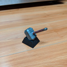 Picture of print of Thor Hammer 1:1 Scale 这个打印已上传 Blake