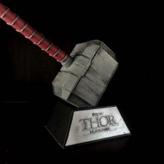 Picture of print of Thor Hammer 1:1 Scale 这个打印已上传 aaron yuan