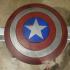 Captain America Shield print image