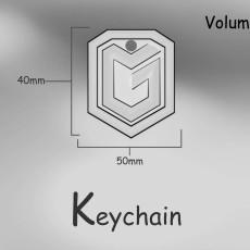 World of Tanks Global Map Legend Badge Keychain