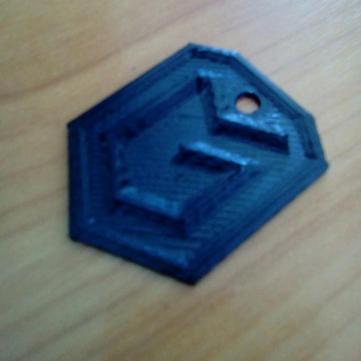 3D Printable World of Tanks Global Map Legend Badge Keychain by Jiří ...