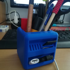 Picture of print of Little Box Pen Holder 这个打印已上传 Marek Ertl