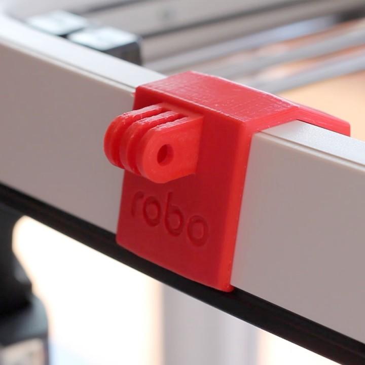 Robo GoPro front mount