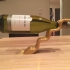 Balancing wine bottle holder image