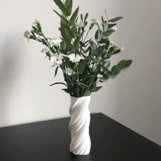 Flower Swirl Vase