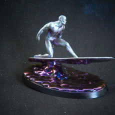 Picture of print of Silver Surfer 这个打印已上传 Dr. T