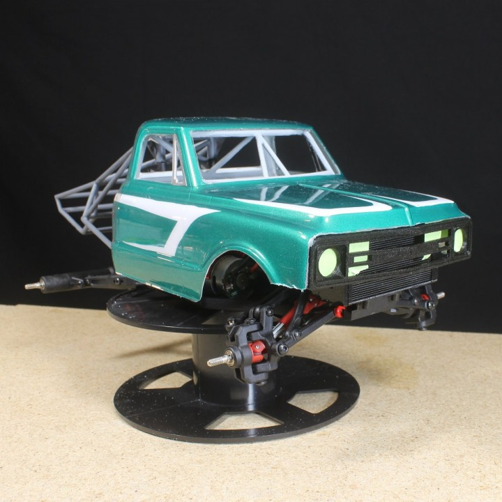 Download Grille For Pro Line 1972 Chevy Truck Von Make It Rc