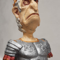 Picture of print of Caesar Bust