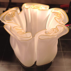 Picture of print of small wave wavy vase easy print