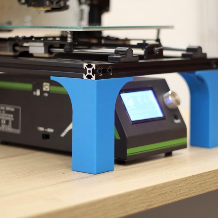 3D Printable Creality CR-10 Legs By Agustin Flowalistik