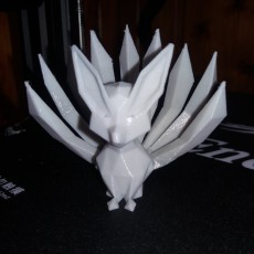 Picture of print of Low-poly Nine-Tailed Fox