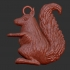 Squirrel (key holder) image