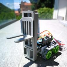 Forklift module for SMARS
