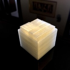 Picture of print of Pinkys puzzle cube