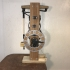 Galileo escapement clock image