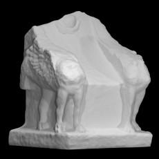 Limestone throne