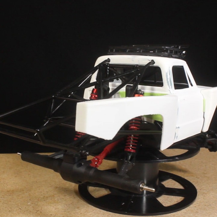 1/12 RC 72 Chevy Prerunner Bedside Pieces