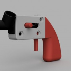 The Paper Micro- The tiniest mag-fed pistol you'll ever print!